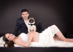 Sesiones de fotos embarazo en Santiago