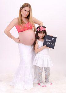 Estudio fotográfico en Santiago para embarazadas
