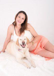 Sesiones de fotos embarazo y mascotas