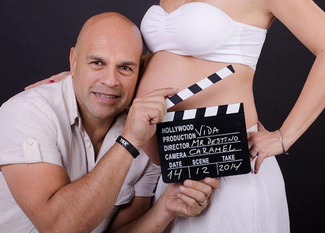 sesion de fotos embarazadas santiago