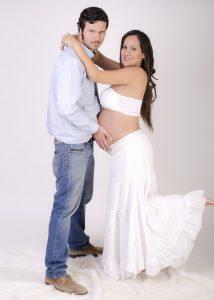 Fotografía profesional embarazo