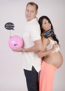 Fotos de embarazo en estudio y profesionales