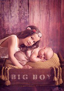 sesión de fotos para bebes recién nacidos