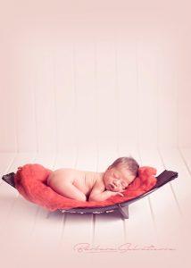 sesión fotografica profesional de bebes